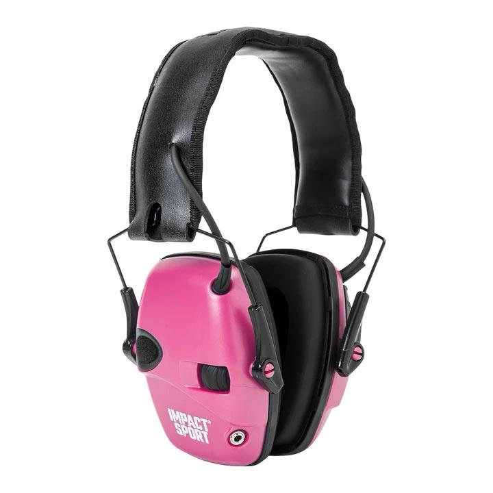 Howard Leight Impact Sport Electronic Earmuff - Pink