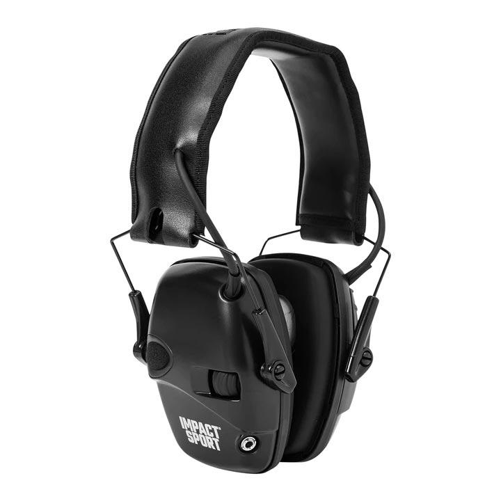 Howard Leight Impact Sport Electronic Earmuff - Black