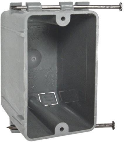 7820RAC SNGL GANG SWITCH BOX