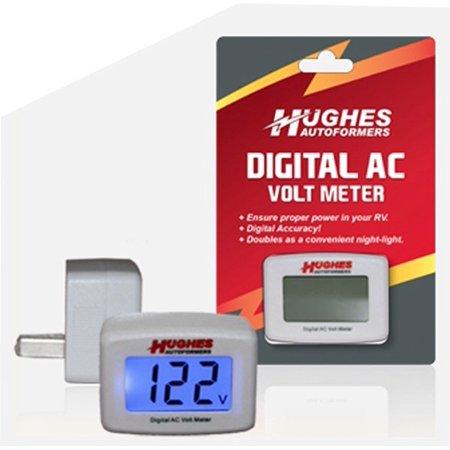 Hughes Accurate Digital Volt Meter/Nightlight