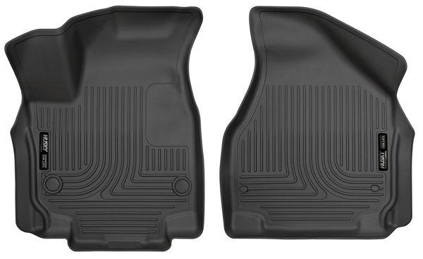 Husky 2017-2020 Chrysler Pacifica Weatherbeater Front Floor Liners Black