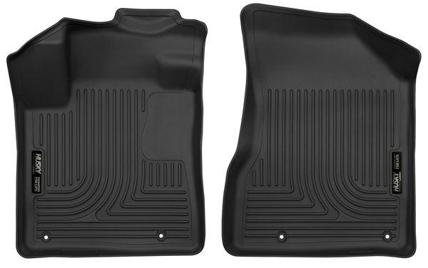 Husky Fits 2015-2020 Nissan Murano Weatherbeater Front Floor Liners Black