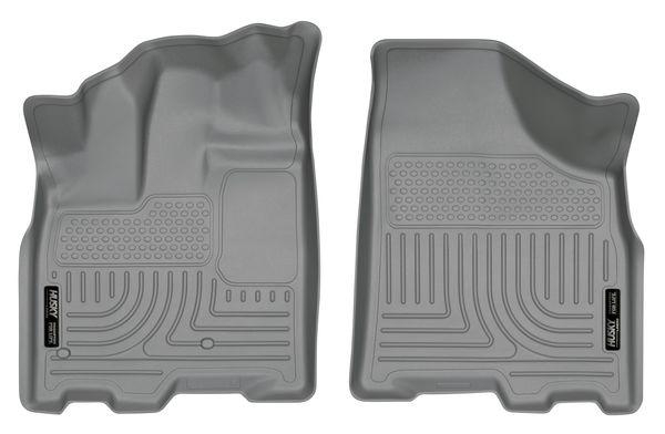 Husky 2011-19 Toyota Sienna Weatherbeater Front Floor Liners Grey