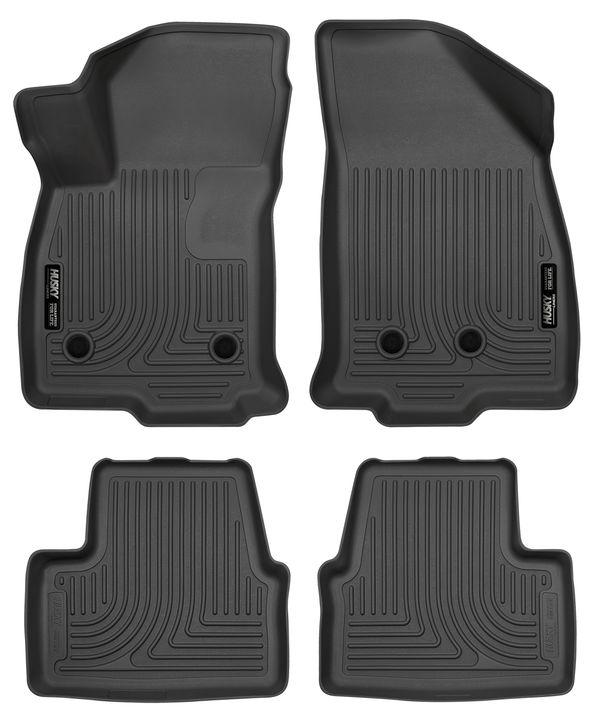 Husky 2016-19 Chevrolet Volt Weatherbeater Front & 2nd Seat Floor Liners Black