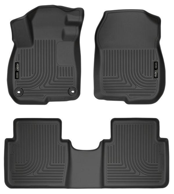 Husky Liners Front & 2nd Seat Floor Liners  17-2020 HONDA CRV-Black