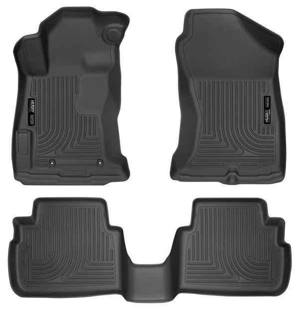 Husky Liners Front & 2nd Seat Floor Liners Fits 17-19 Impreza