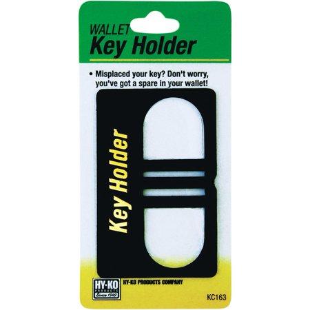 Hy-Ko KC Series Wallet Key Holder, Plastic