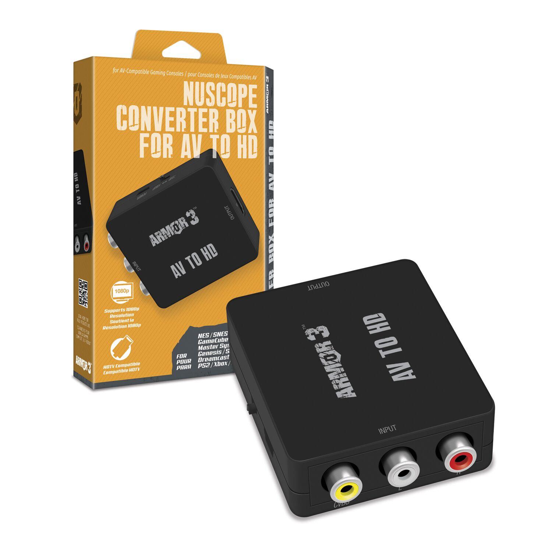 ARMOR3 M07315 NUSCOPE CONVERTER BOX FOR AV TO HD