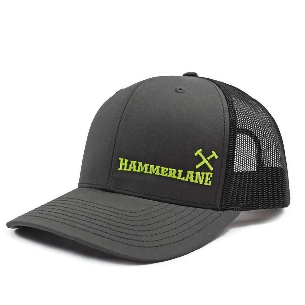 HAMMERLANE CROSS HAMMERS CAP CH/BLK NEON