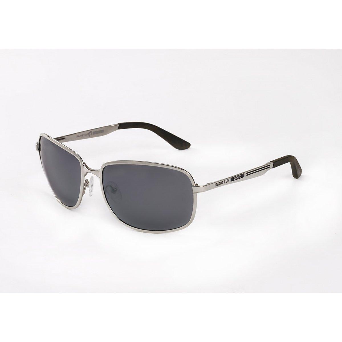 Hang Ten Gold Airstreamer-Shiny Silver/Smoke Lens