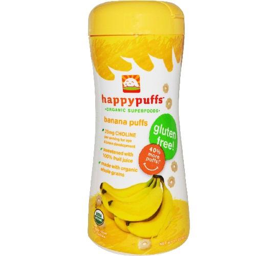 Happy Baby Banana Puffs (6x21Oz)