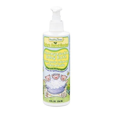 Healthy Times Baby Bath Honeysuckle (8 fl Oz)