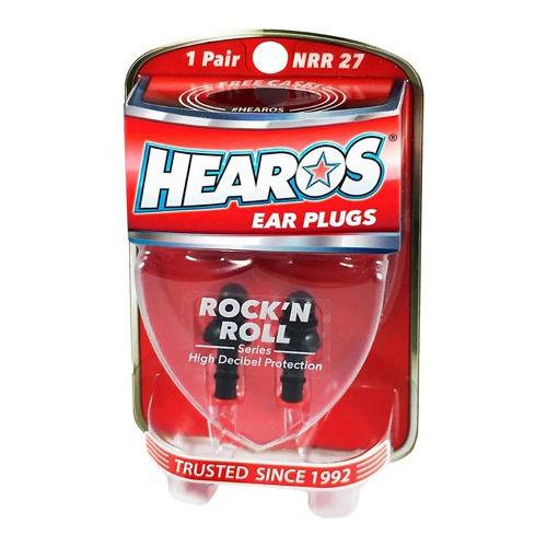 Hearos Ear Plugs Rock 'n Roll Series (1 Pair)
