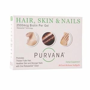 Heaven Sent Purvana Hair Skin Nails 2500 mcg (30 Softgels)
