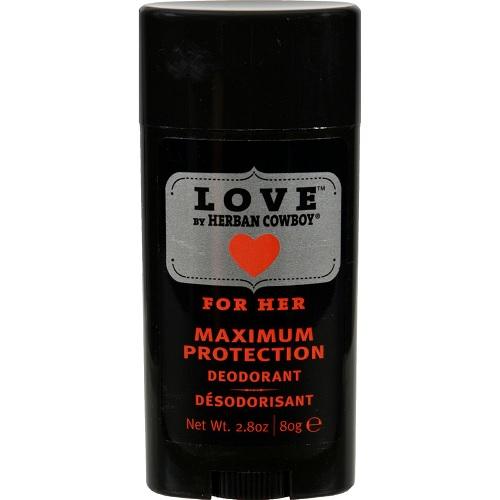 Herban Cowboy Deodorant Love Maximum Protection (1x28 OZ)