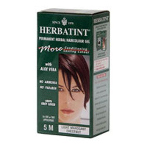 Herbatint Permanent Herbal Haircolour Gel 5M Light Mahogany Chestnut (1x135 Ml)