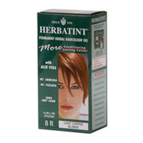 Herbatint Permanent Herbal Haircolour Gel 8R Light Copper Blonde (1x135 Ml)
