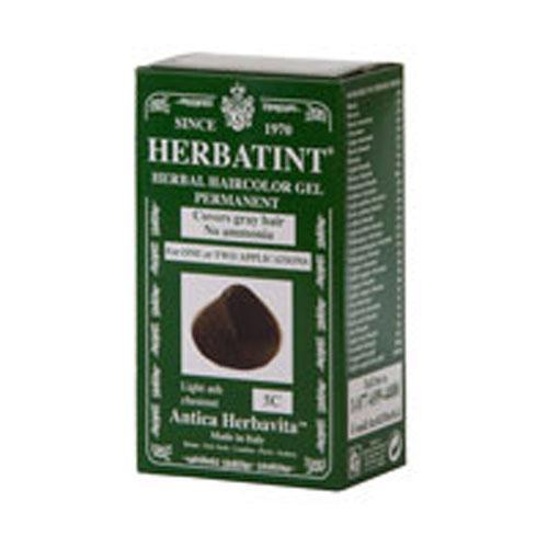 Herbatint Permanent Herbal Haircolour Gel 5C Light Ash Chestnut (1x135 Ml)