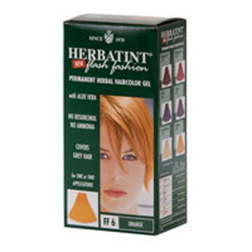 Herbatint Haircolor Kit Flash Fashion Orange FF6 (1 Kit)
