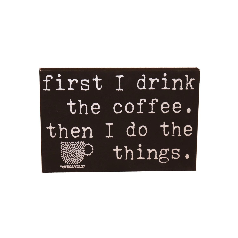 Coffee Leatherette 12 x 18