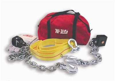 HI-LIFT OFF ROAD KIT(BAG,GLOVES,STRAP,CHAIN)