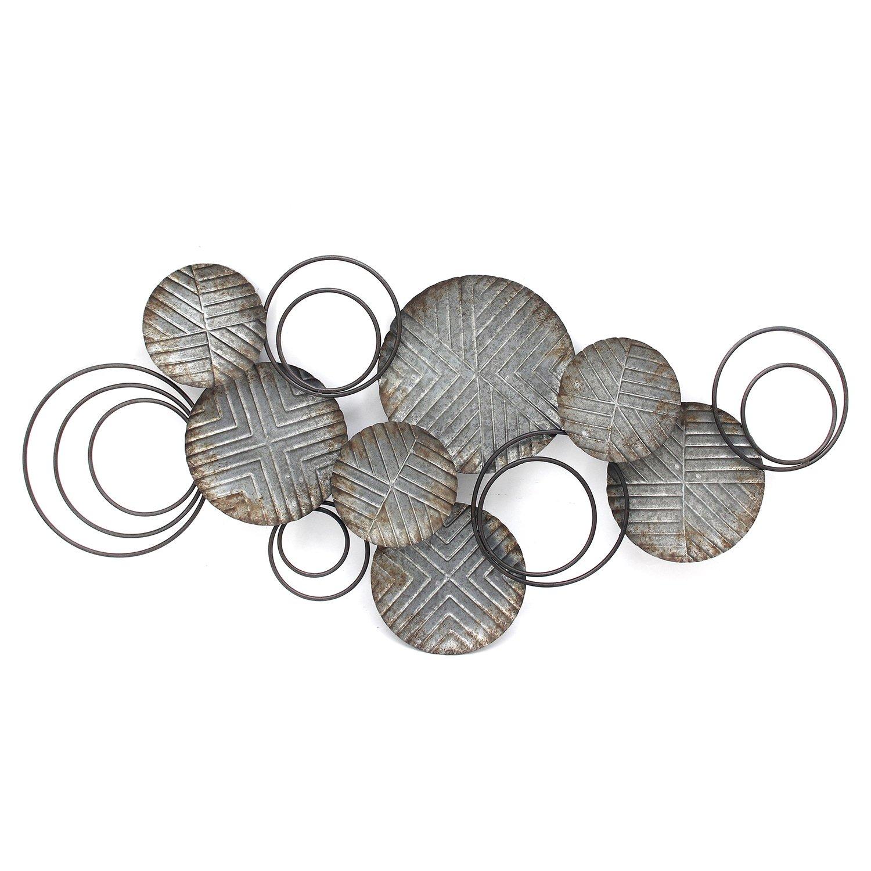 """41"""" Farmhouse Galvanized Metal Plates"""
