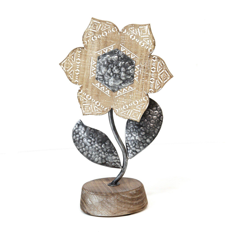 Boho Metal Table Top Flower