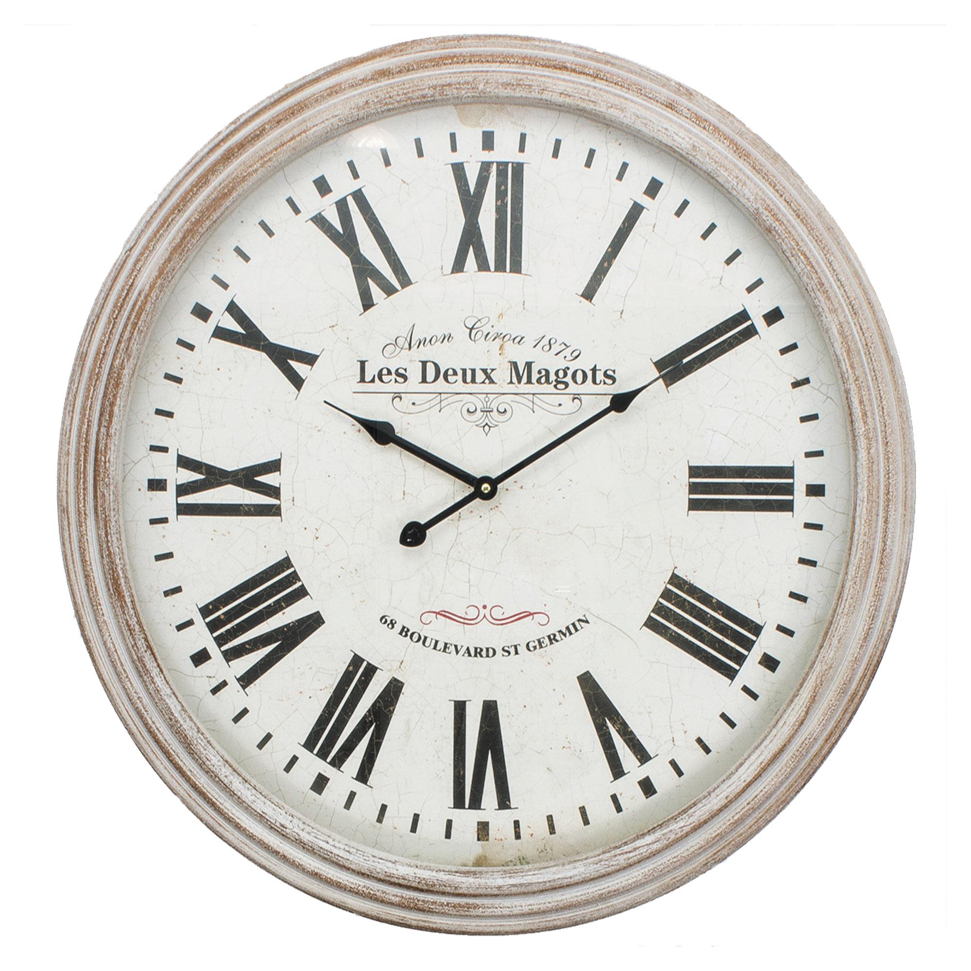 """24"""" X 24"""" Euro Round Clock"""