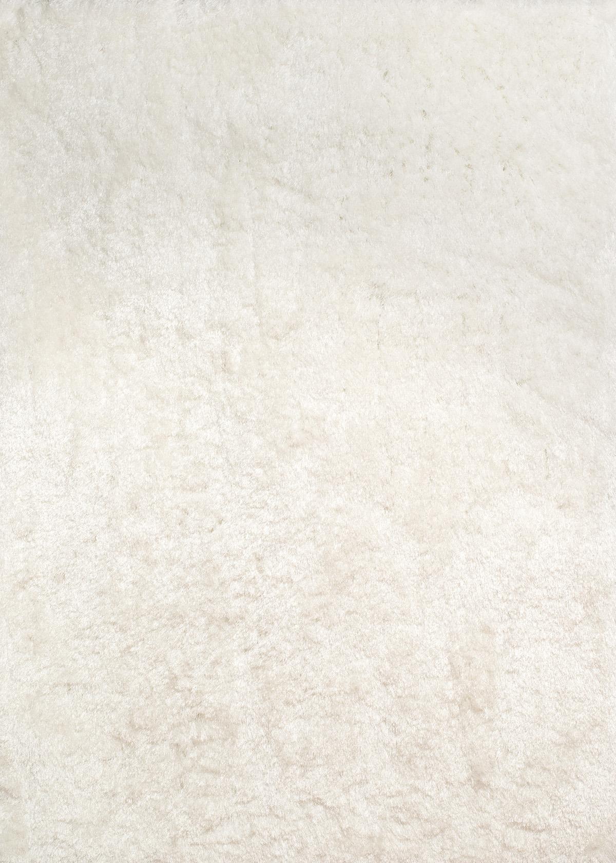 """31"""" x 37"""" White Polyester Mat Rug"""