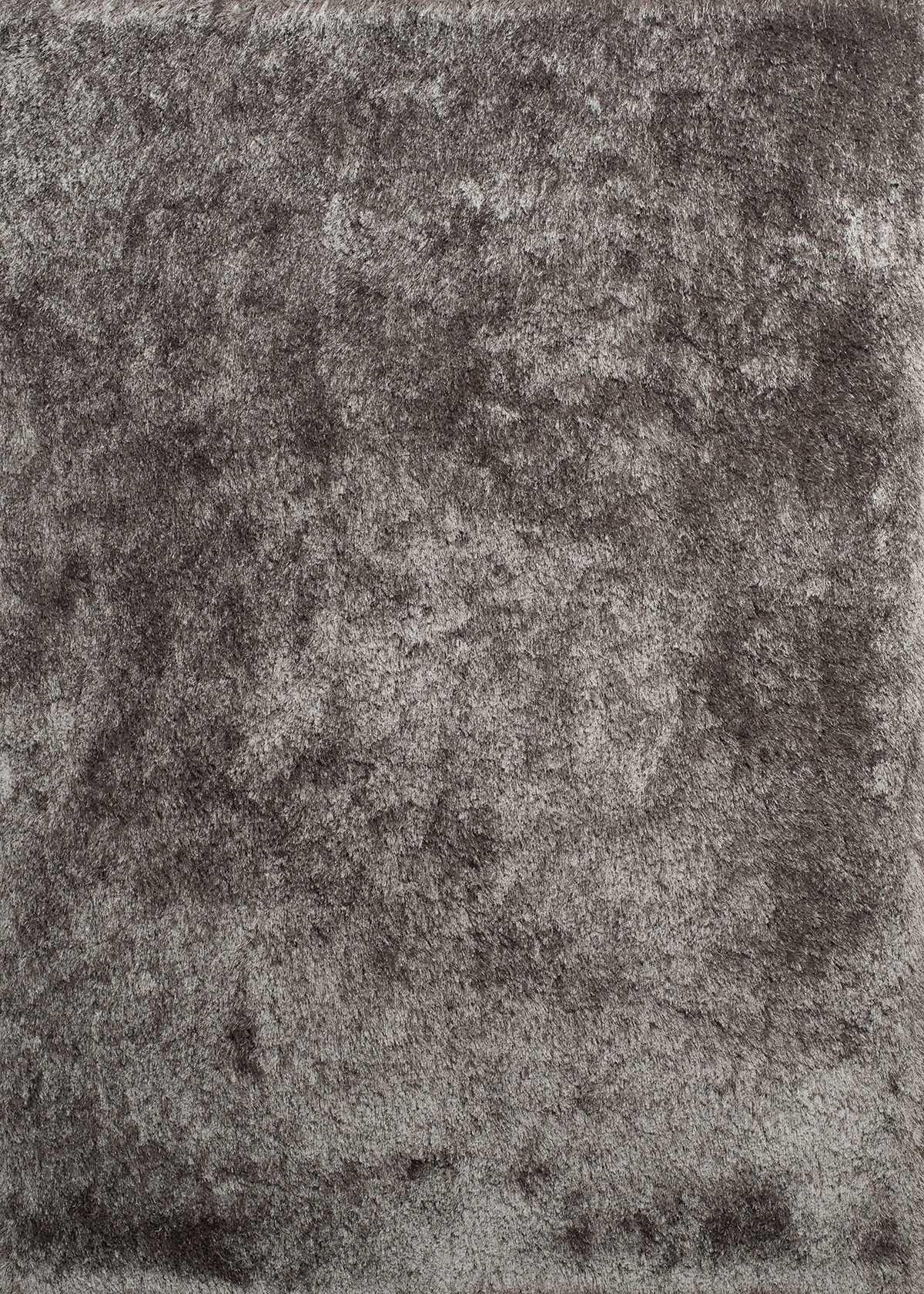"63"" x 86"" Grey Polyester Area Rug"