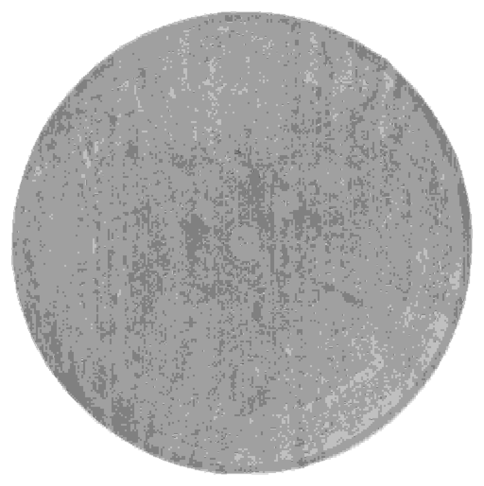 "94"" x 94"" Wheat Polyester / Olefin Round Rug"