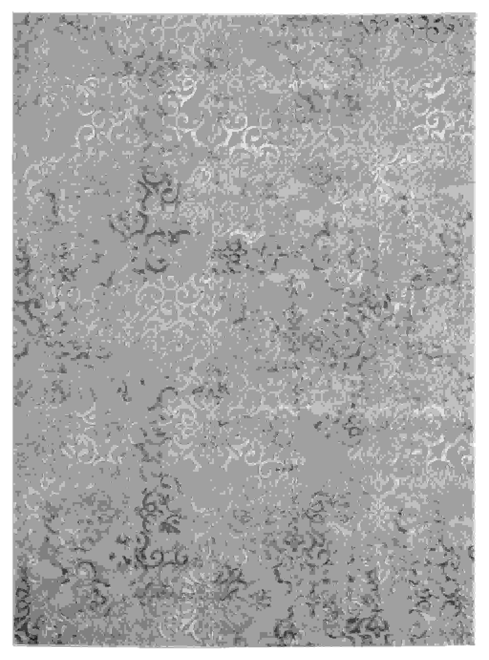 "94"" x 126"" Blue Polyester / Olefin Area Rug"