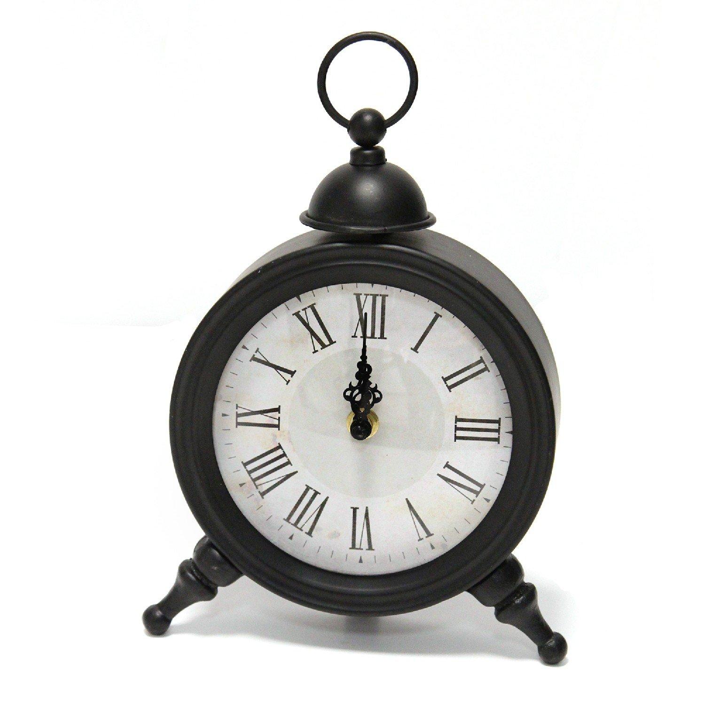 Elegant Norman Metal Table Clock