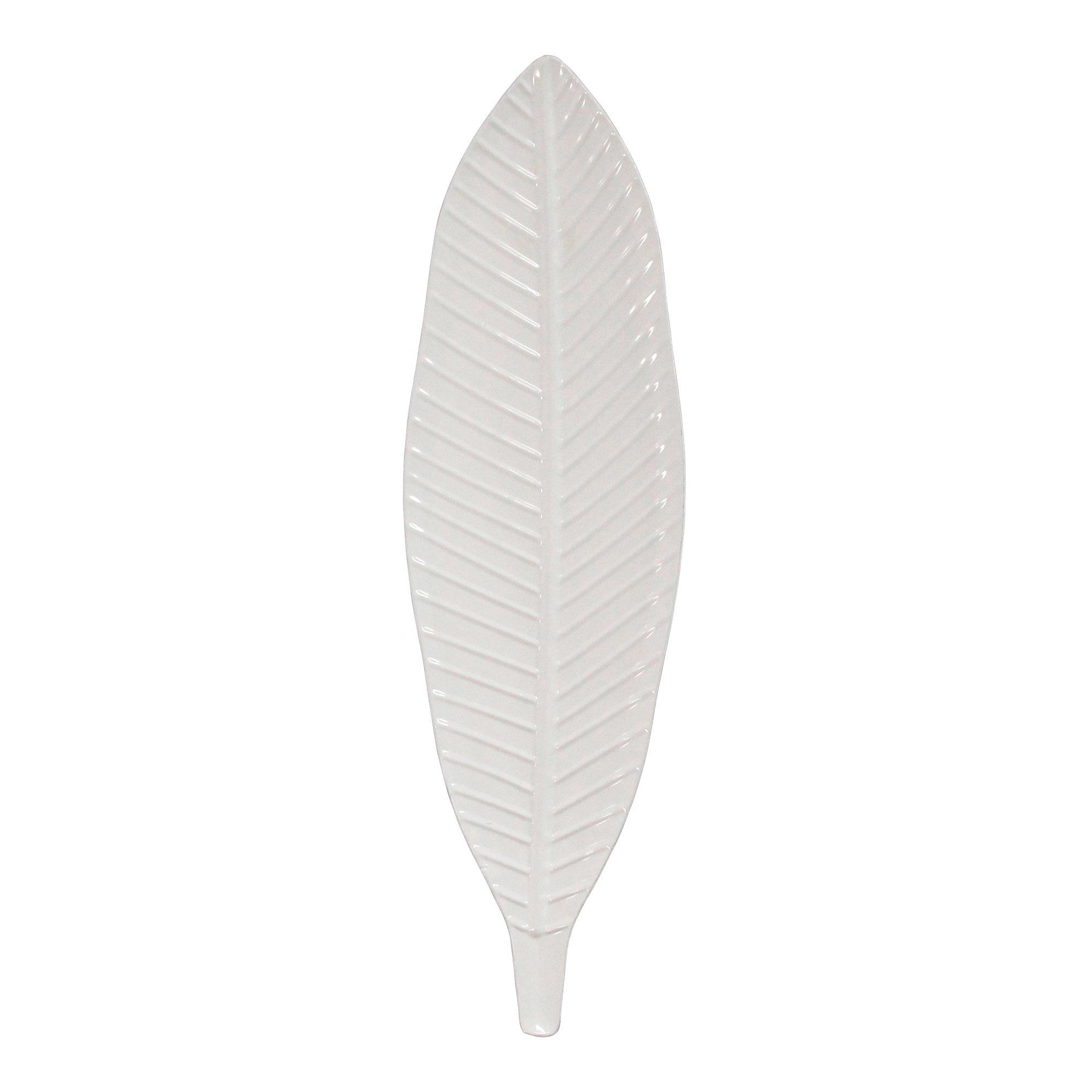 Gloss-White Metal Leaf
