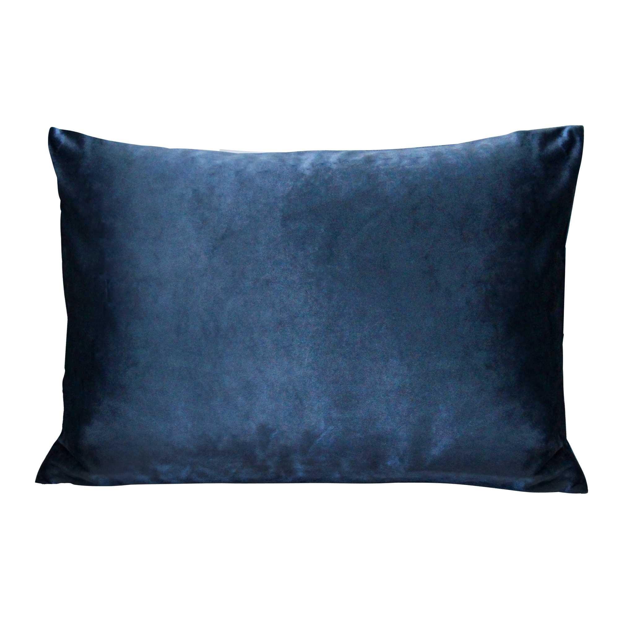 Royal Blue Velvet Indoor / Outdoor Lumbar Pillow