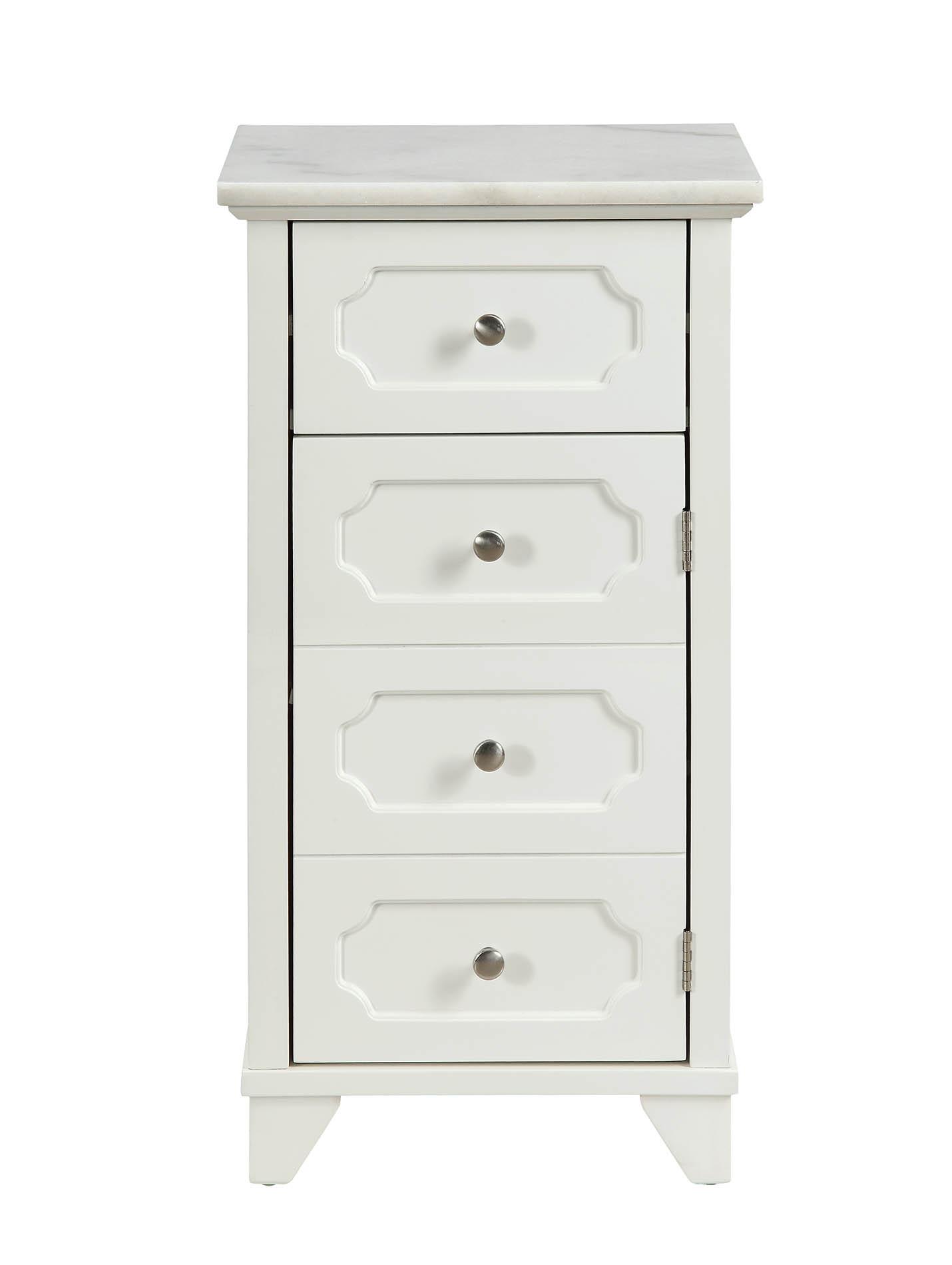 "16"" X 13"" X 30"" White Stunning Cabinet"
