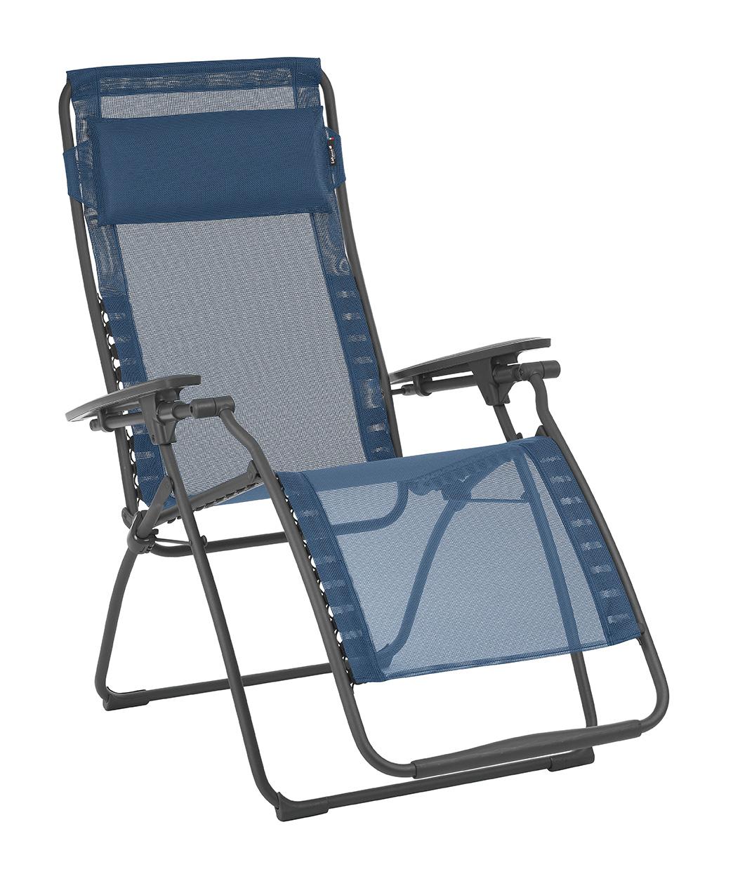 Zero Gravity Recliner - Basalt Steel Frame - Ocean Fabric