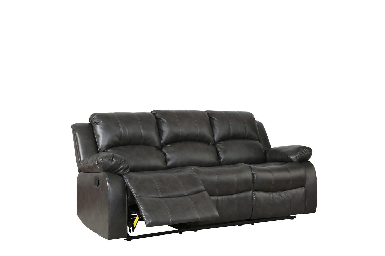 "82"" X 38"" X 40"" Gray  Sofa"