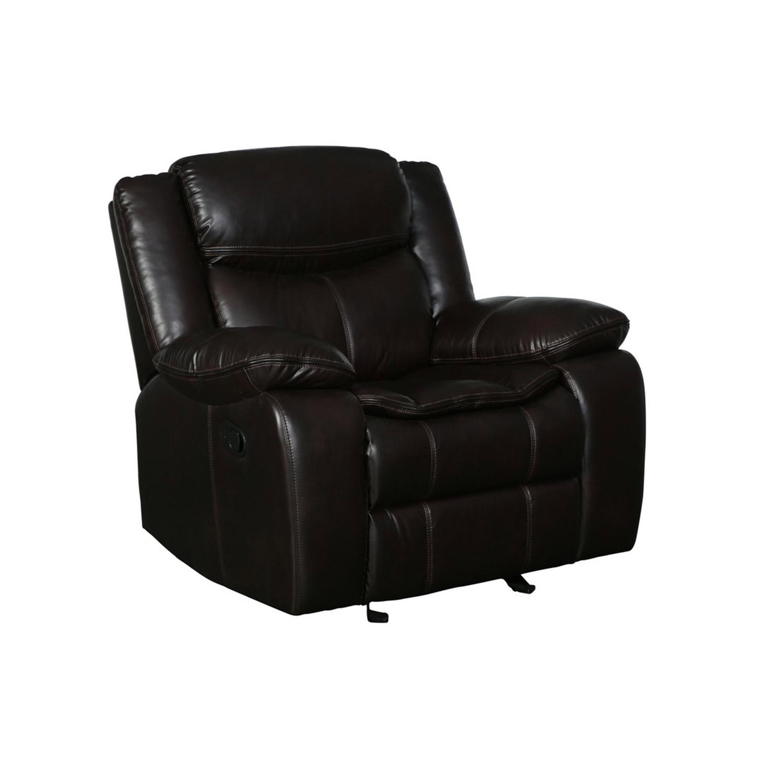 "42"" Brown  Reclining Chair"