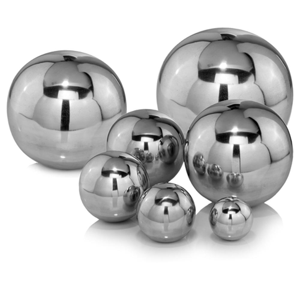"4"" x 4"" x 4"" Buffed Polished Ball Sphere"