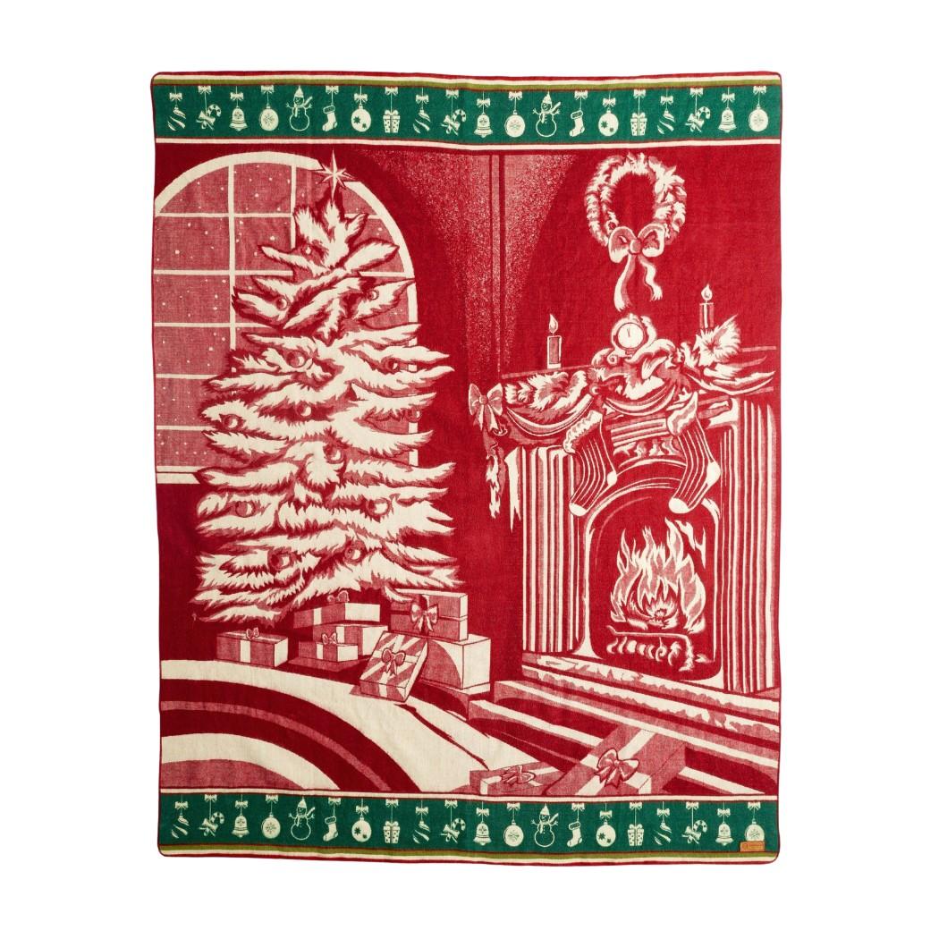 Ultra Soft Mountainside Lodge Handmade Woven Blanket