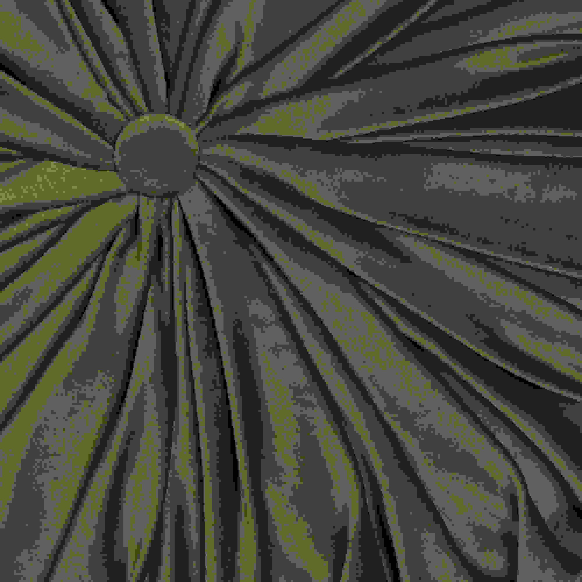 Stratton Home Decor Round Tufted Velvet Green Pillow