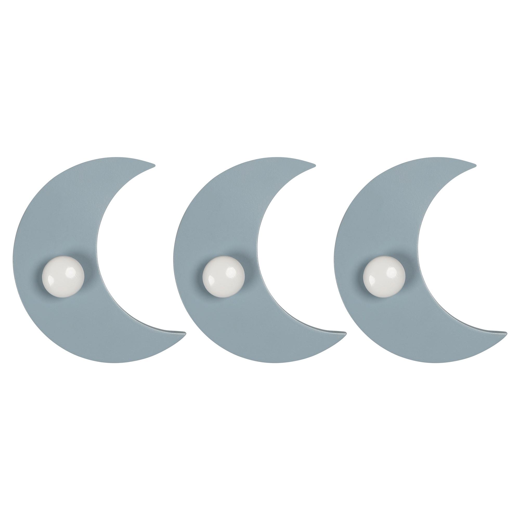 Set of 3 Half Moon Hooks
