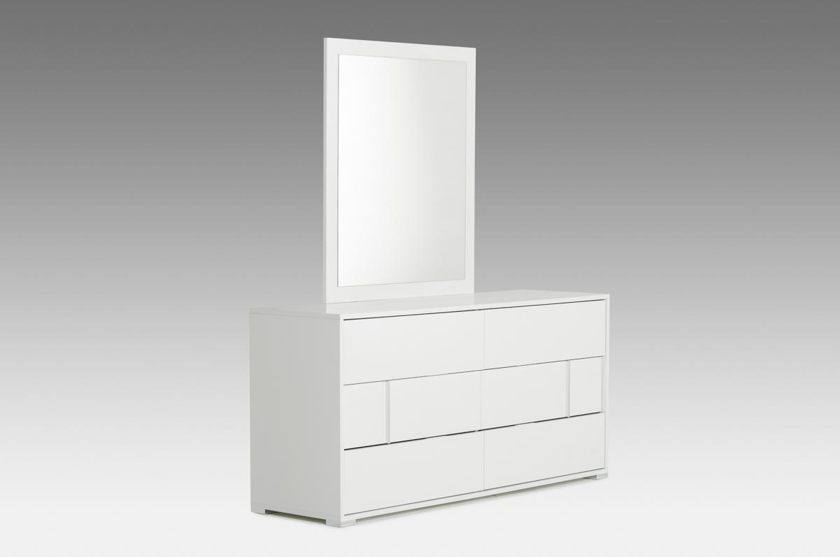 """30"""" White MDF Dresser"""