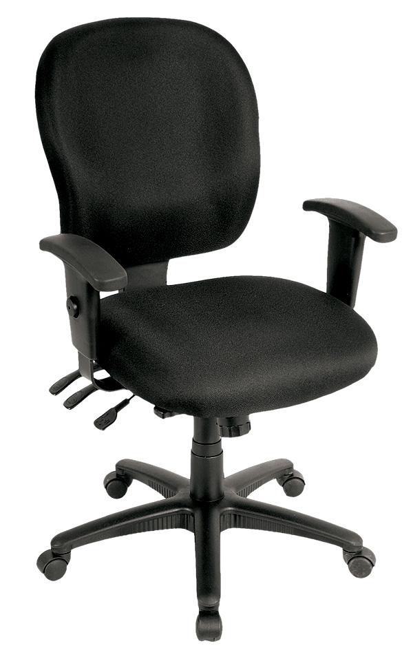 "26"" x 25"" x 37"" Charcoal Fabric Chair"