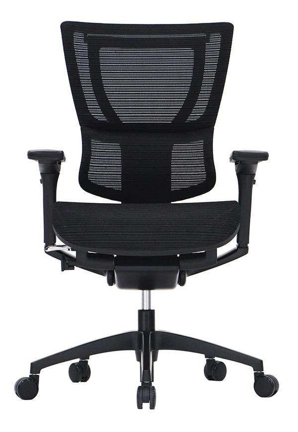 "26"" x 26"" x 40.8"" Black Mesh Tilt Tension Control Chair"