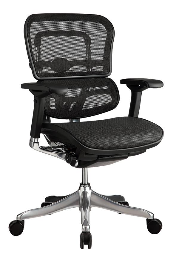 "26.4"" x 26"" x 45.3"" Black Mesh Elite High Back Chair"