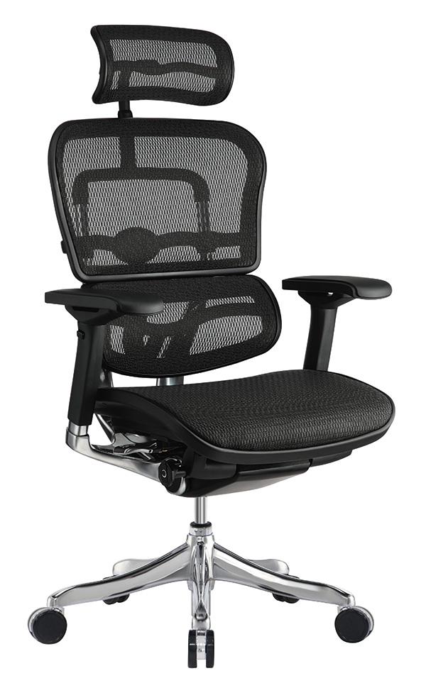 "26.4"" x 26"" x 39.4"" Black Mesh Elite Mid Back Chair"