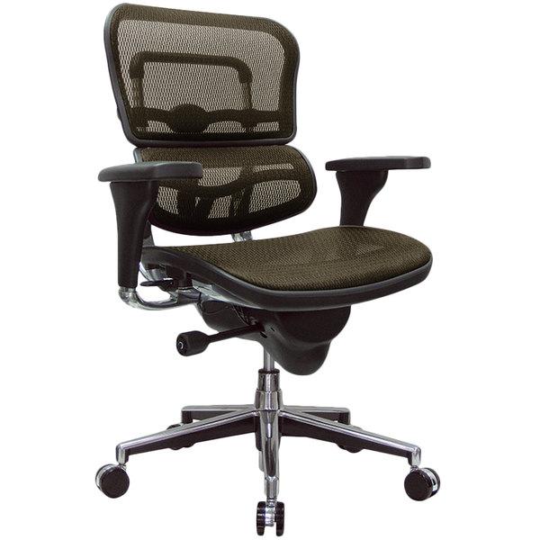 "26.5"" x 29"" x 39.5"" Orange Mesh Chair"