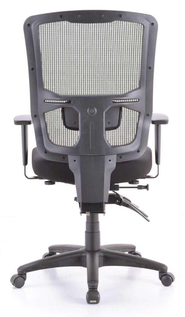 """26.4"""" x 24.8"""" x 41.7"""" Black Mesh   Fabric Chair"""